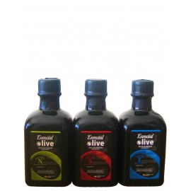 Esencial Olive. Pack de 3 botellas de 100 ml