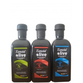 Esencial Olive. Pack 3 botellas de 500 ml.