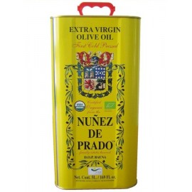 Nuñez de Prado. 5 liters metal tin.
